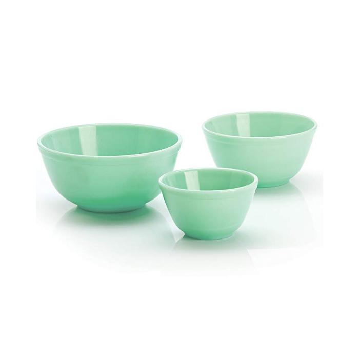 Mosser Glass Jadite Bowls
