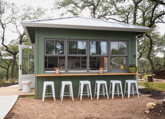 wine bar exterior