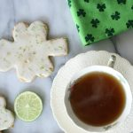 Easy to make Shamrock Shortbread Cookies for St. Patrick's Day