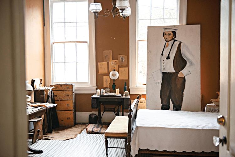 bedroom belonging to Degas