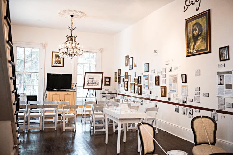 Degas House museum family timeline