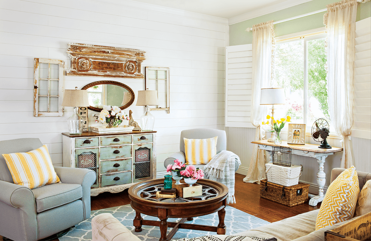 Colorful Vintage Cottage Style