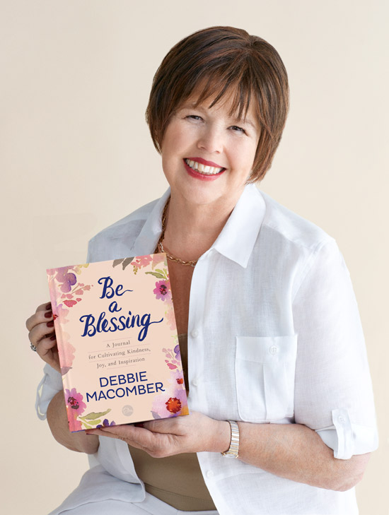 "Debbie Macomber holds new book ""Be a Blessing"""
