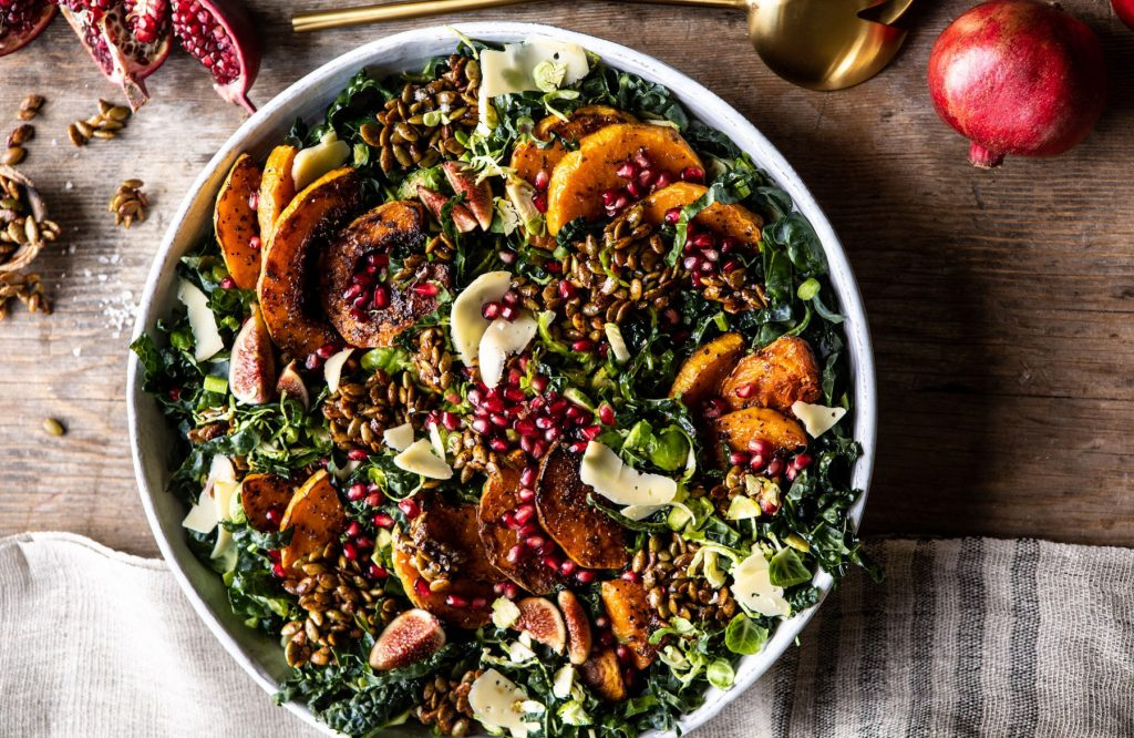 Fall-Harvest-Roasted-Butternut-Squash-and-Pomegranate-Salad-1