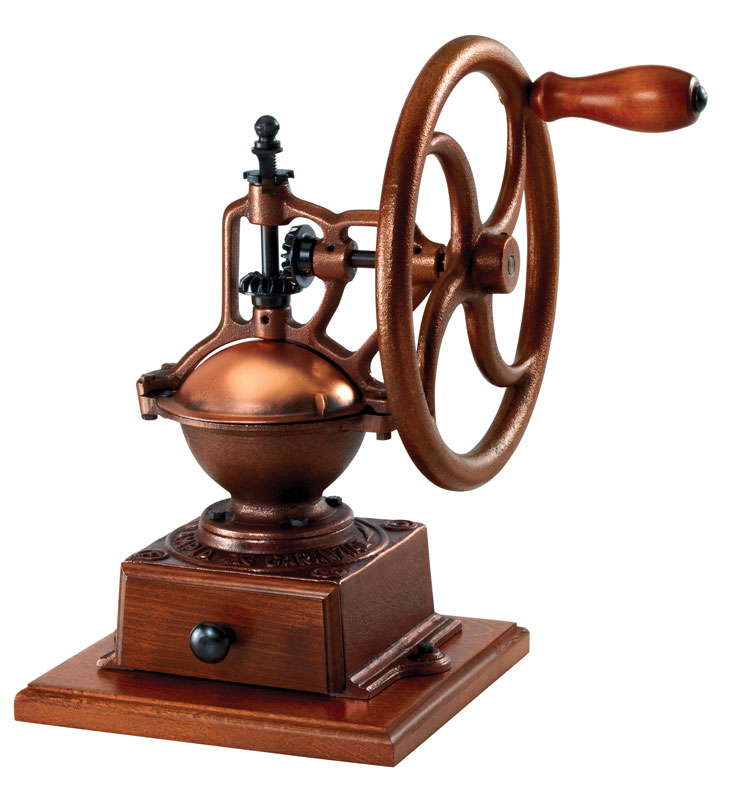 Vintage-style Paderno manual coffee grinder