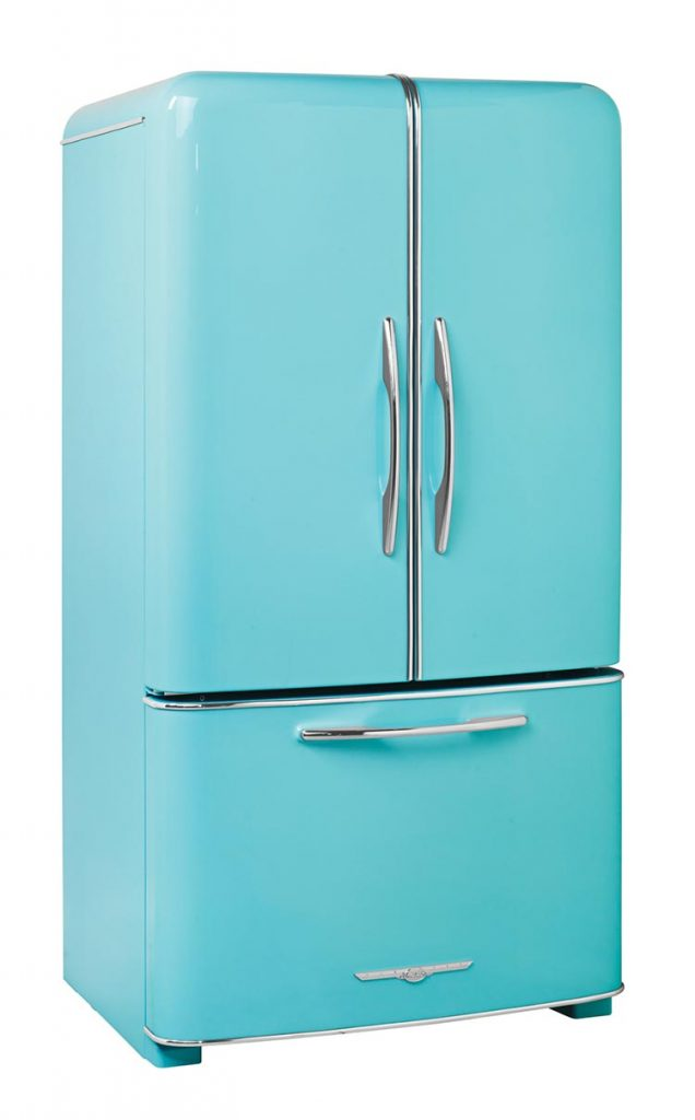 Northstar model 1950 blue fridge