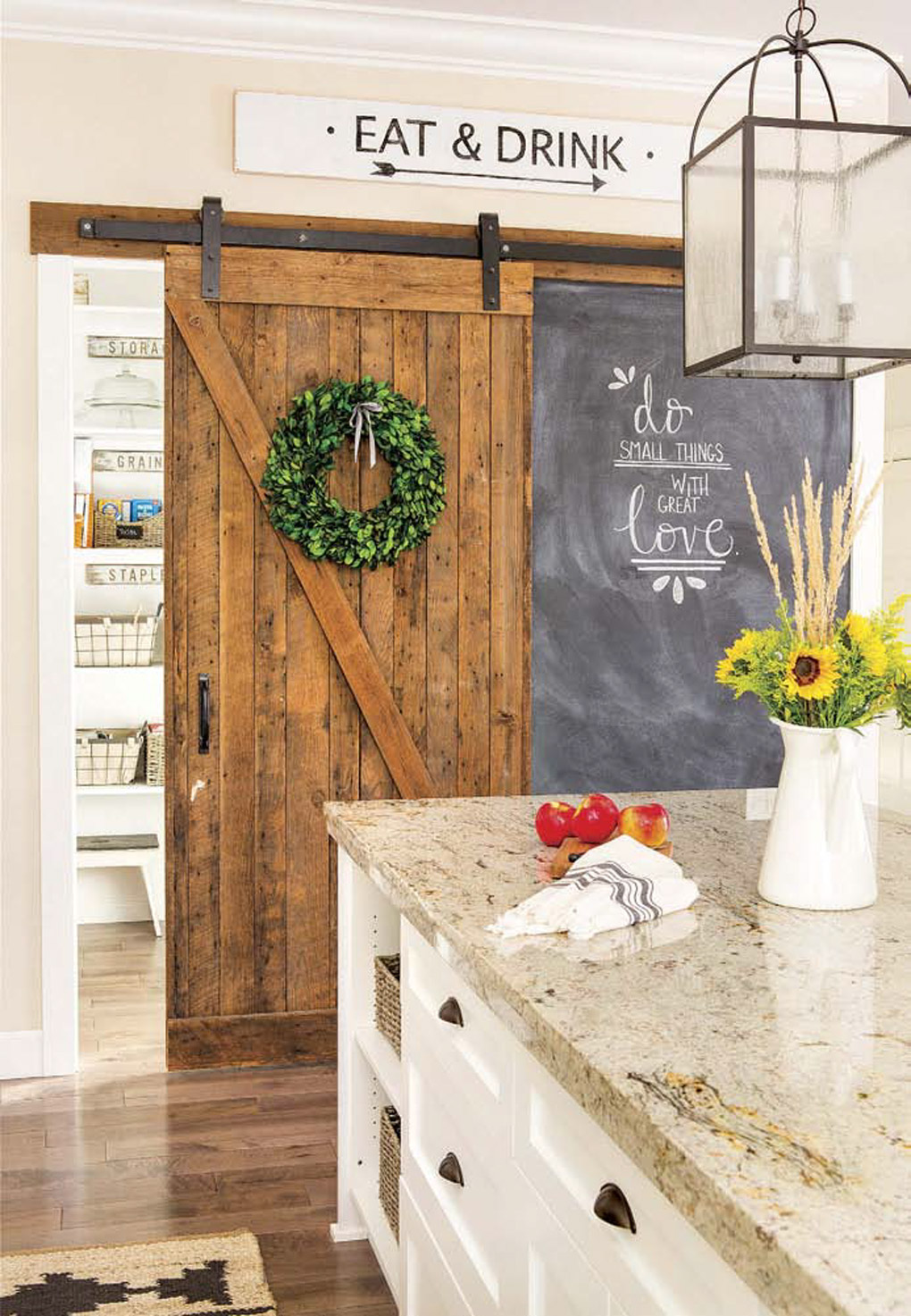 Springfield Barn Home: Delve into the details of farmhouse and cottage style.