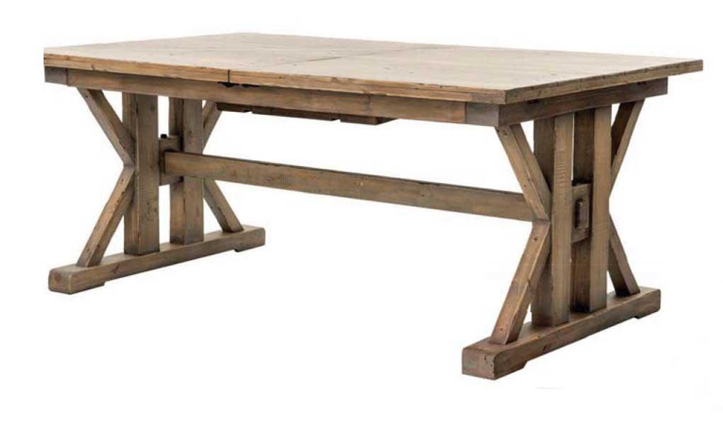 Classic rustic farmhouse table.