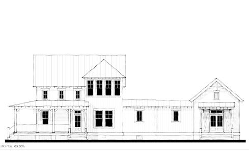 the architectural rendering of the Project House 2020