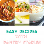 easy recipes with pantry staples